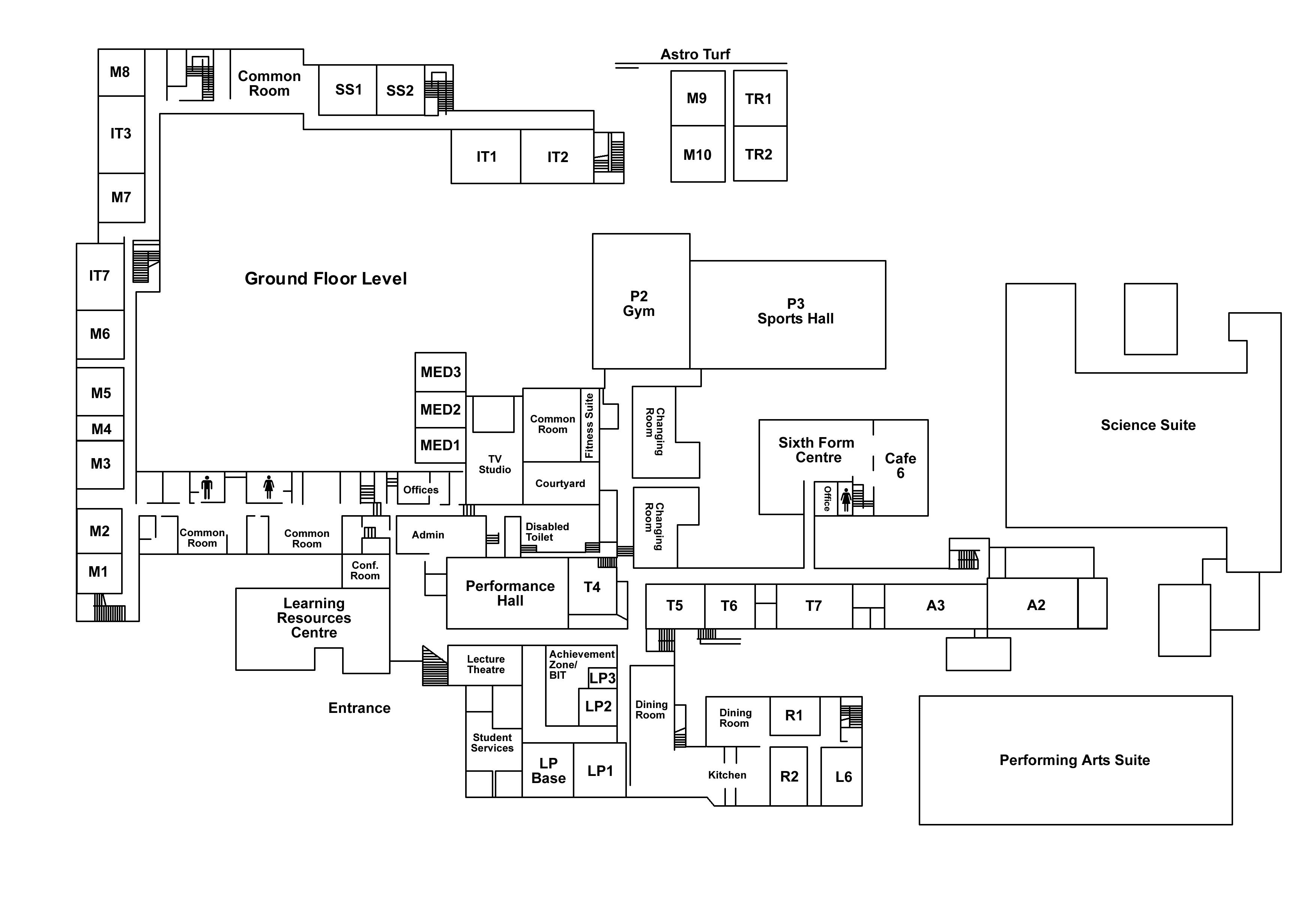Map Ground Floor