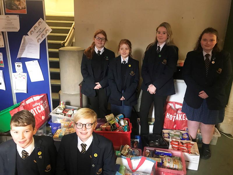 Donating To Carlisle Foodbank William Howard School