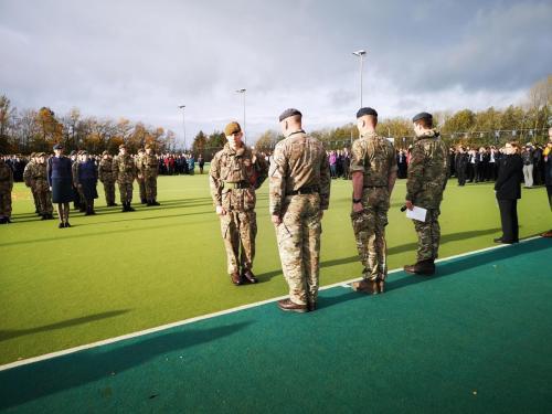 Spadeadam personnel  cadets